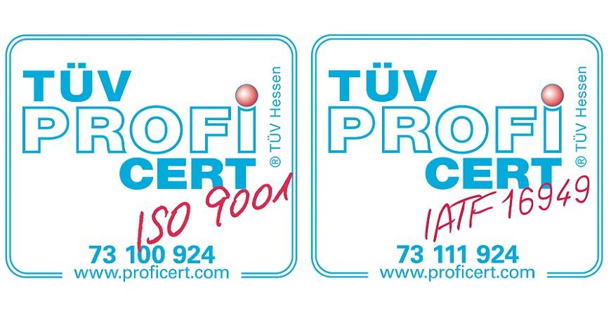 TÜV Zertifikat Warenzeichen 2018